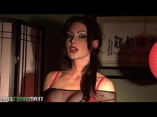 big tits  brunette  rubbing