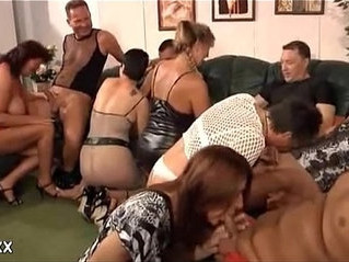 gilf  milf  orgy