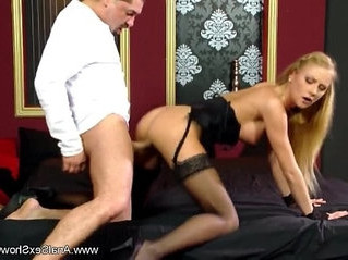 blonde   butt   cougar