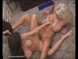 blonde  cum on tits  pussy