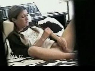 caught   dildo   milf