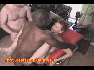 creampie   gilf   old and young