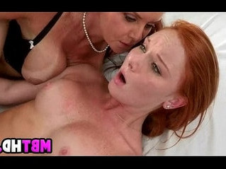 cock  mother  redhead