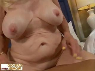 blonde  cock  grandma