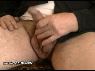 old and young  old man  rubbing
