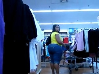 big ass  booty  ebony
