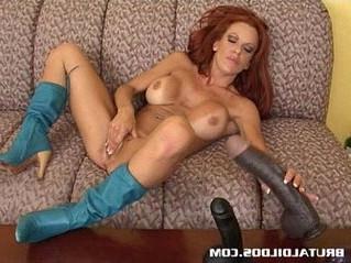 busty  dildo  huge tits