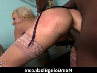 banged  black cock  milf