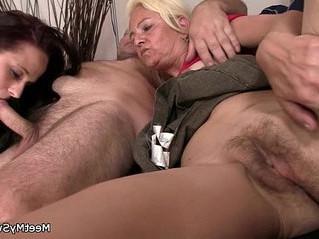 3some  grandma