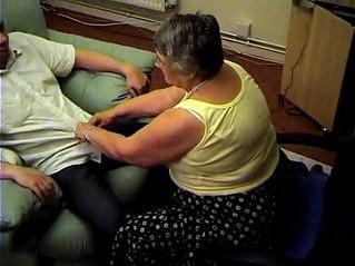 blowjob  footjob  grandma