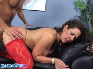 banged  big tits  couch