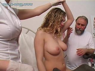 busty  doctor  girl