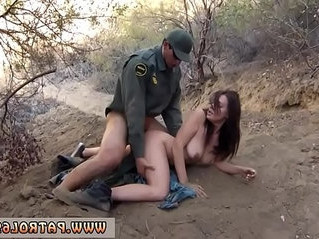 caught  natural tits  officer