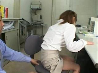 asian  office  sluts