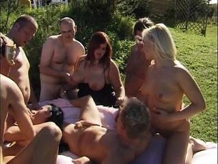 gangbang  orgy  sex