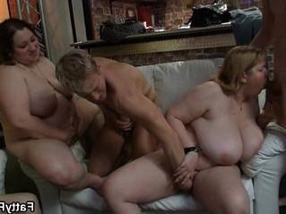 fat  grandma  pounding