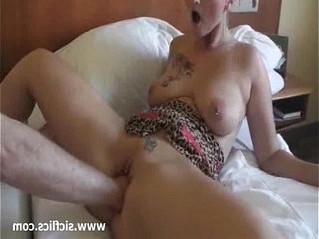 bizarre  blonde  fisting