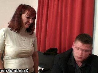 cock  gilf  old and young