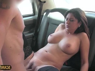brunette   cum   european